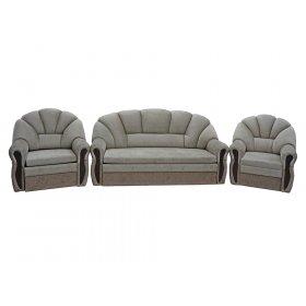 Комплект диван и два кресла Алиса Lux (103673)