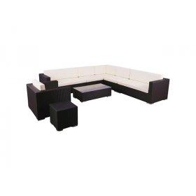 Комплект мебели Puerto из ротанга Elit (SC-B6017) Brown MB1034 ткань A13815