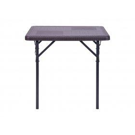 Стол складной Фиат WAK-78 78-78х70 пластик Wooden Brown