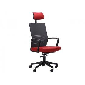 Кресло Nitrogen HB графит-бургунди