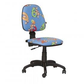 Кресло детское Пул Цифры - синий