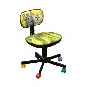 Кресло детское Бамбо дизайн №8 Котята