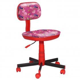 Кресло детское Киндер Пони - розовый (пластик красный)