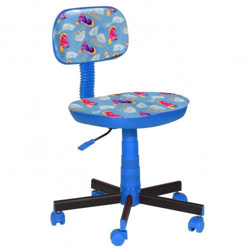 Кресло детское Киндер Пони - голубой (пластик синий)