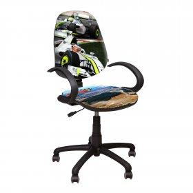 Кресло Поло 50/АМФ - 5 Дизайн №2 Гонки