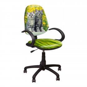 Кресло Поло 50/АМФ - 5 Дизайн №8 Котята