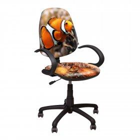 Кресло Поло 50/АМФ - 5 Дизайн №6 Рыбка