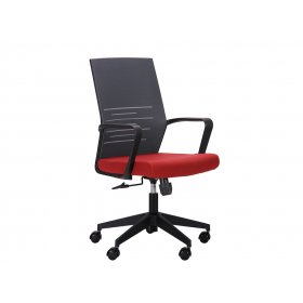 Кресло Nitrogen LB графит/бургунди