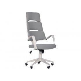 Кресло Spiral White светло-серый