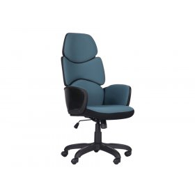 Кресло Starship Black стальной синий