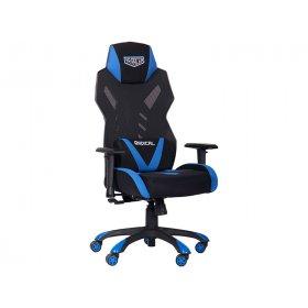 Кресло геймерское VR Racer Radical Krios черный/синий