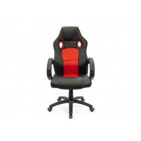 Кресло Анхель PL TILT чёрно-красный