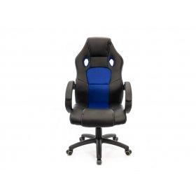 Кресло Анхель PL TILT чёрно-синий