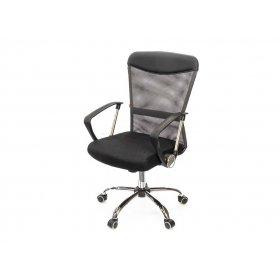 Кресло Ирвин CH TILT чёрно-серый