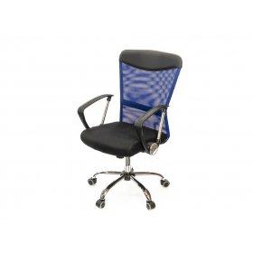 Кресло Ирвин CH TILT чёрно-синий