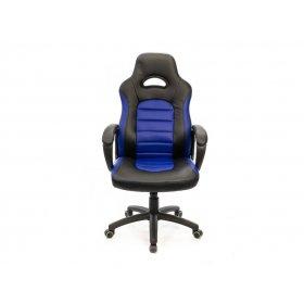 Кресло Стрит PL TILT чёрно-синий