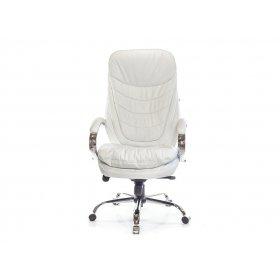 Кресло Валенсия Soft CH MB кожа белый