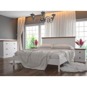 Деревянная кровать Кантри