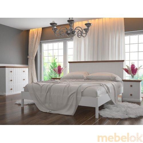 Деревянная кровать Кантри 160х200