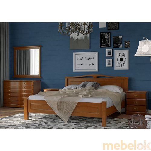 Деревянная кровать Лондон 160х200