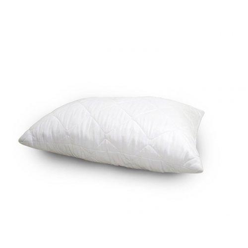 Подушка шариковый силикон, стеганный поликотон 50х70