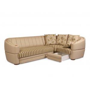 Угловой диван Роксолана (подушки без бахромы)