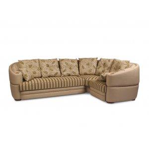 Угловой диван Роксолана (подушки с бахромой)