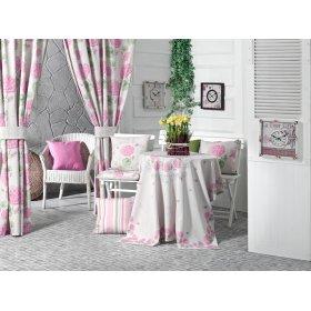 Комплект текстиля Розовая гортензия