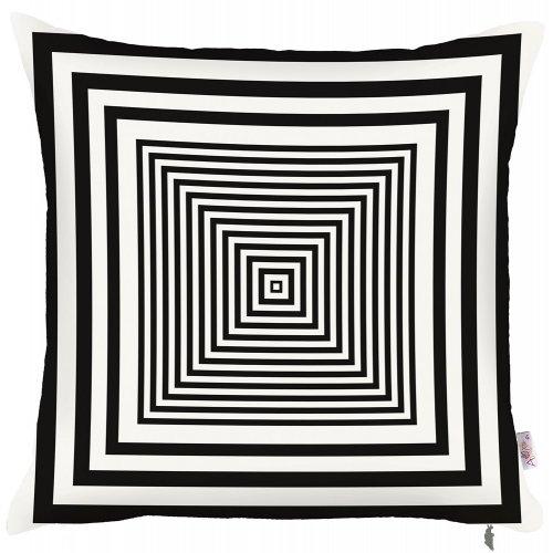 Декоративная подушка Scandi black 43х43