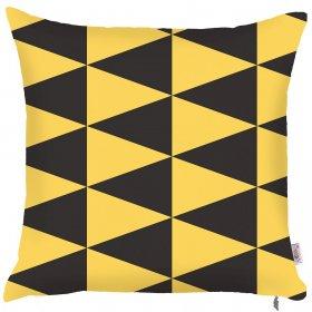 Декоративная подушка Yellow scandi 43х43