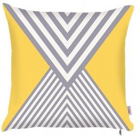 Декоративная подушка Yellow scandi-2 43х43