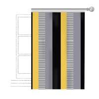 Шторы Аполена Текстиль, Цвет черный: купить, цены в магазине МебельОК