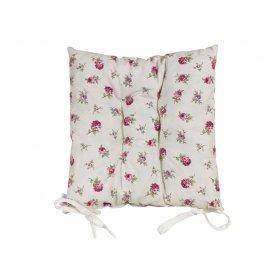 Подушка на стул Английский цветочек 43х43
