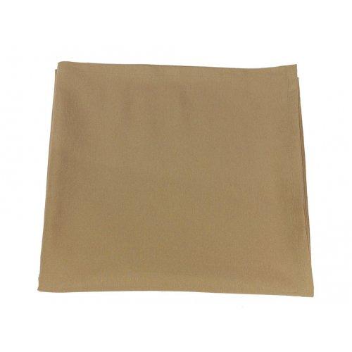 Скатерть без канта Brown 170х170
