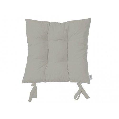 Подушка на стул Серебро 43х43