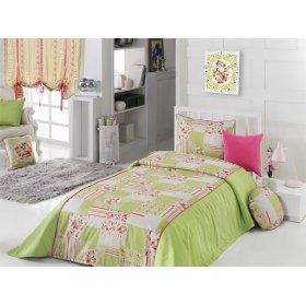 Комплект для спальни Романтичное утро 180х220 (покрывало и наволочка)