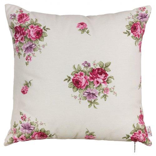 Подушка Английский цветочек 45х45