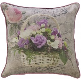Подушка Прованс в цветах 45х45