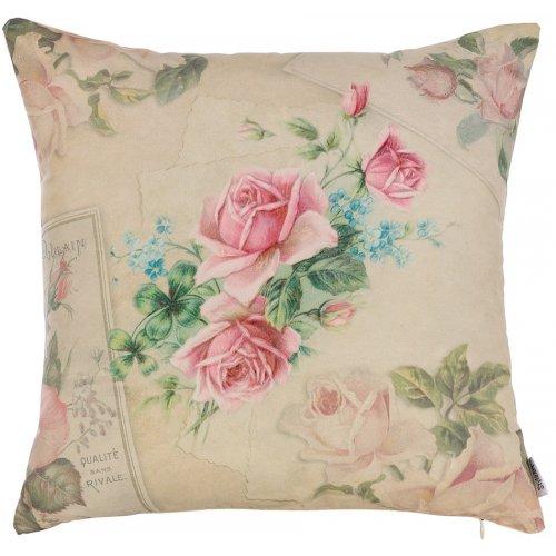 Подушка Нежные розы-5 45х45