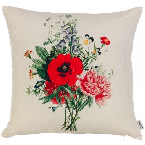 Подушка Полевые цветы-4 45х45