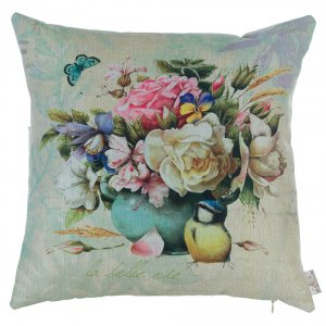 Подушка Цветочный натюрморт-2 45х45