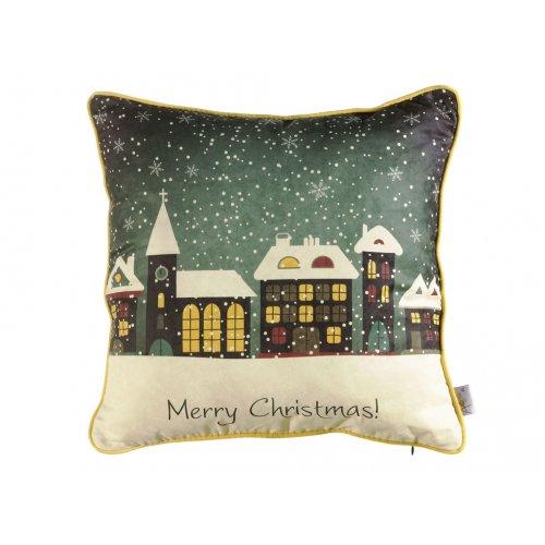 Подушка Новогодняя сказка-2 45х45