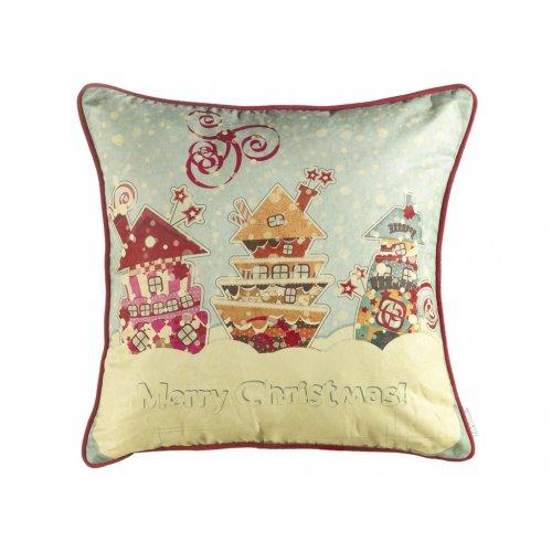 Подушка Новогодняя сказка-3 45х45