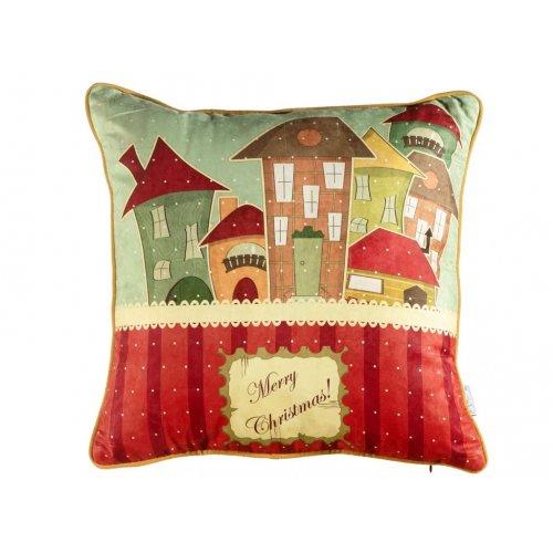 Подушка Новогодняя сказка-4 45х45
