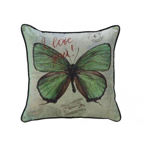 Подушка Вальс бабочек-2 45х45