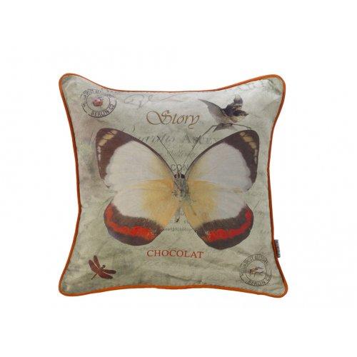Подушка Вальс бабочек-1 45х45