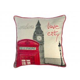 Подушка Я люблю Лондон 45х45