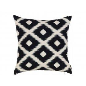Подушка Черно-белые узоры-3 45х45