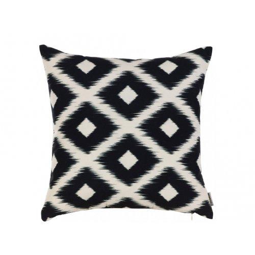Подушка Черно-белые узоры-4 45х45