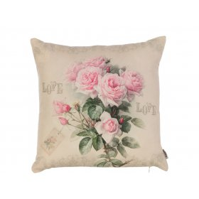 Подушка Нежные розы-3 45х45